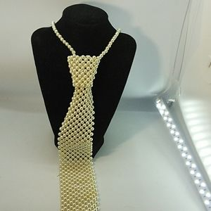Jewelry - Pearl Bead tie Necklace